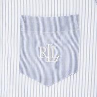 Long Stripe Night Shirt