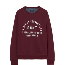 Teen Collegiate Sweat Top