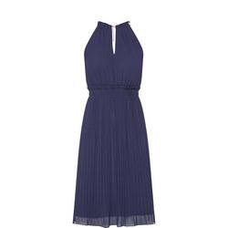 Chain Collar Dress
