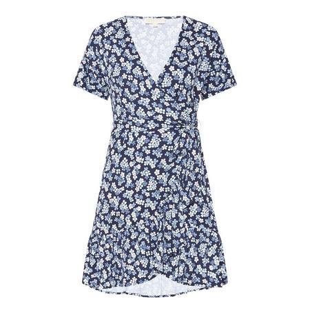 Cherry Blossom Wrap Dress
