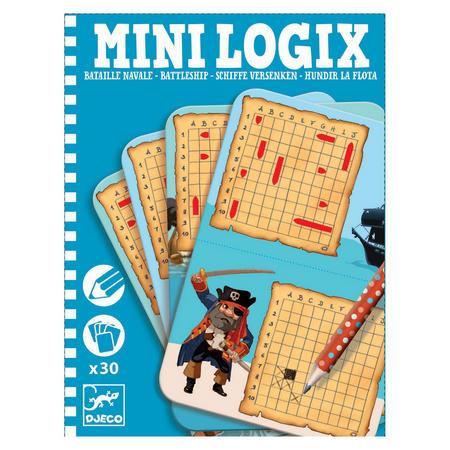 Mini Logix Battleship Puzzles