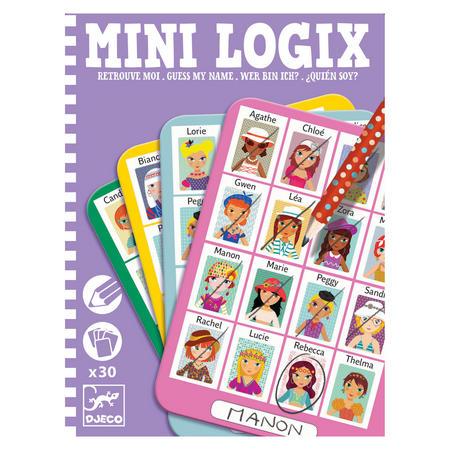 Mini Logix Guess My Name Puzzles