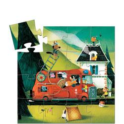 Fire Truck 16-Piece Jigsaw