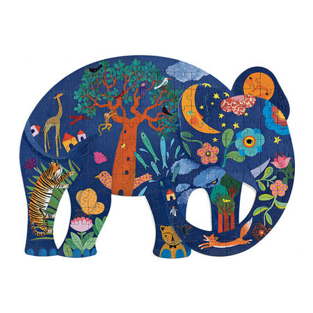 Elephant 150-Piece Jigsaw