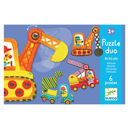 Articulo Vehicles Puzzle Duo