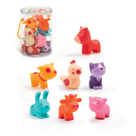 Troopo-Farm Animal Figurines