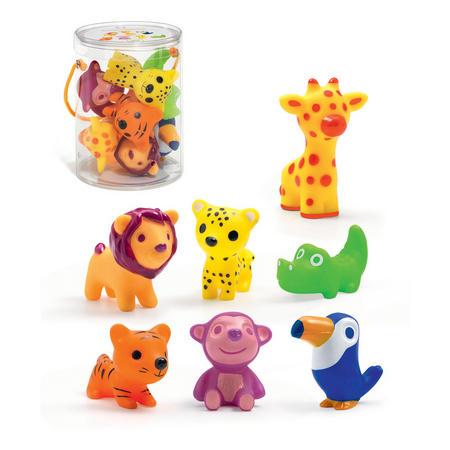 Troopo-Savana Animal Figurines
