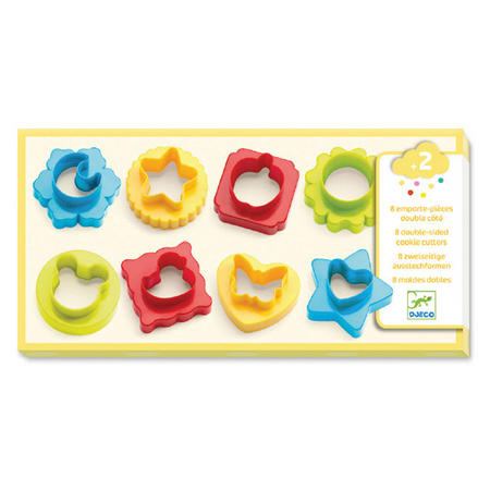 Double-Sided Play Dough Cookie Cutters