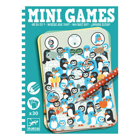 Mini Games Where Are You Puzzles