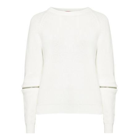 Sailey Zip Sleeve Sweater