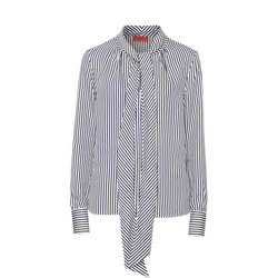 Cassica Striped Blouse