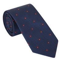 Micro Floral Pattern Tie