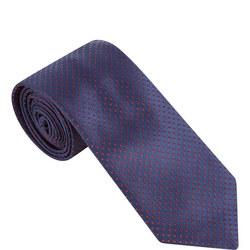 Dot Pattern Silk Tie