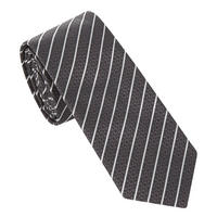 Stripe Diamond Pattern Tie