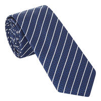 Stripe Diamond Pattern Tie