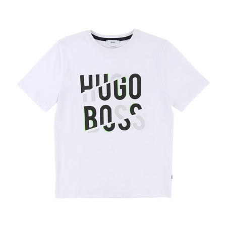 Boys Cracked Logo T-Shirt