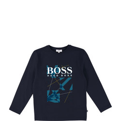 Boys Graphic Logo Top