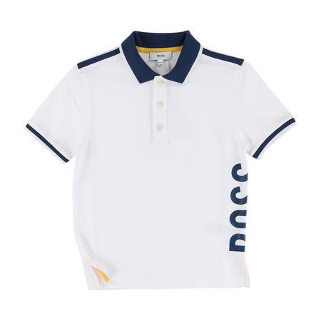 Boys Logo Side Polo Shirt