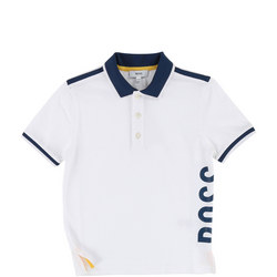 Boys Logo Side Polo Shirt