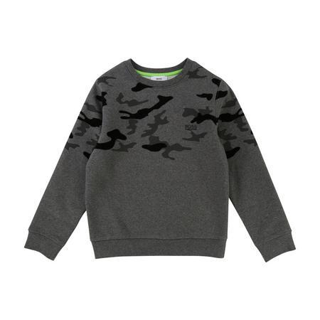 Boys Camouflage Sweatshirt
