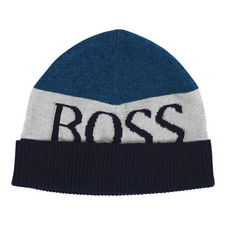 Stripe Logo Beanie Hat