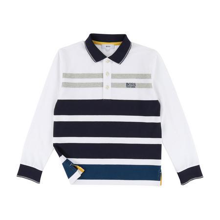 Boys Long Sleeve Polo Shirt
