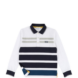 Boys Long Sleeve Polo Shirt