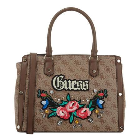 Badlands Embroidered Satchel Bag