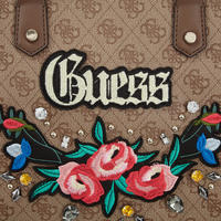 Badlands Embroidered Satchel Bag