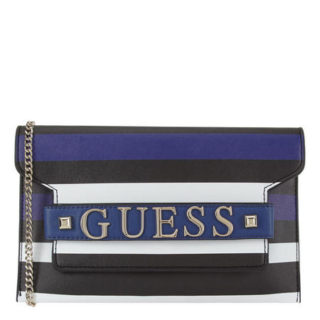 Felix Stripe Clutch