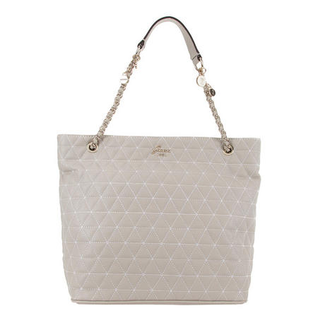 Fleur Quilted Tote Bag
