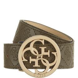Embossed Logo Belt