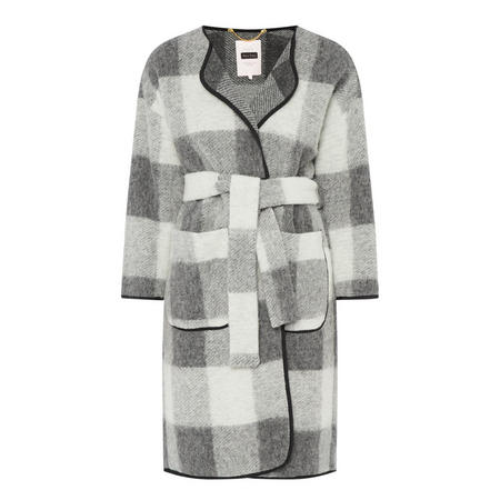Mona Check Coat