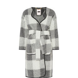 Mona Check Coat