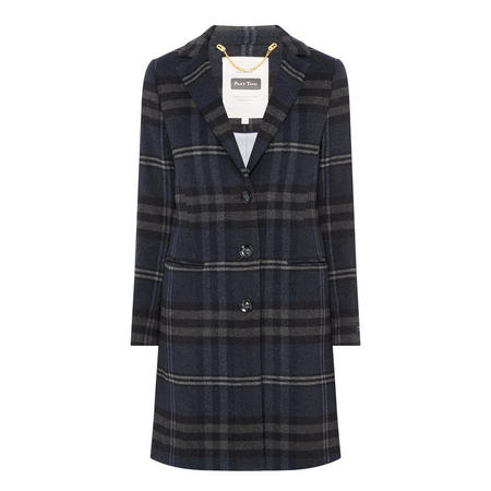 Marie Check Coat
