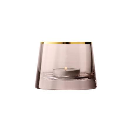Sorbet Tealight Holder H6.5cm Cinnamon