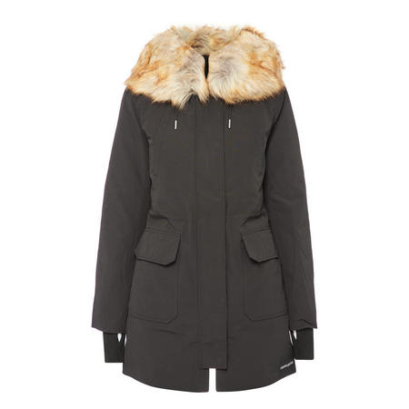 Fur Hood Parka Jacket