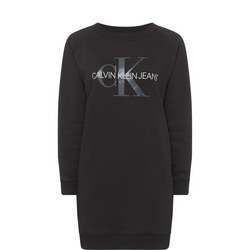 Logo Sweater Dress
