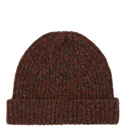 Ribbed Knitted Beanie  Hat