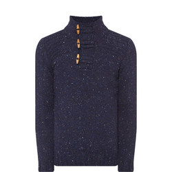 Button Neck Sweater