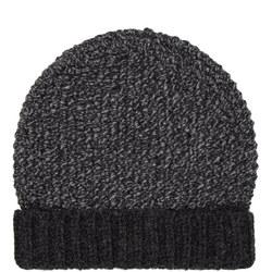 Block Stripe Beanie Hat