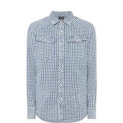 Two-Pocket Gingham Shirt