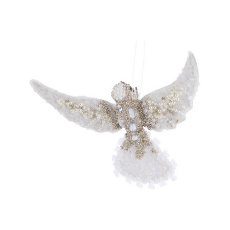 Hummingbird With Clip Tree Decoration