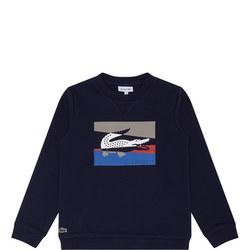 Boys Stripe Long Sleeve Sweatshirt
