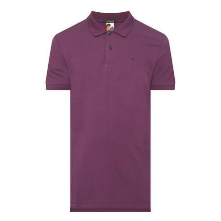 Solid Piqué Polo Shirt
