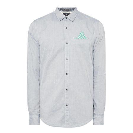 Casual Printed Pocket Shirt