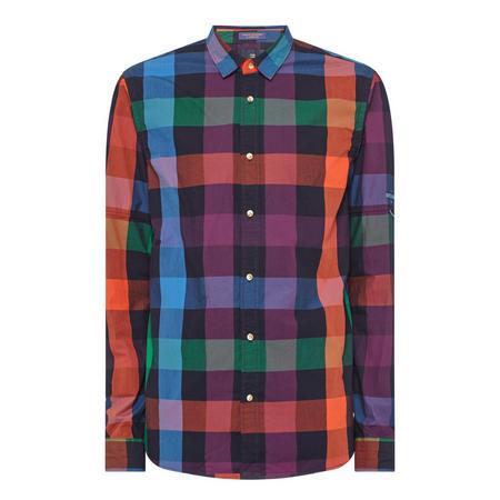 Rainbow Gingham Shirt