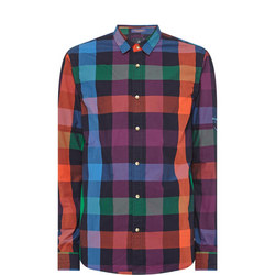 Rainbow Gingham Shirt
