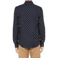 Triangle Print Oxford Shirt