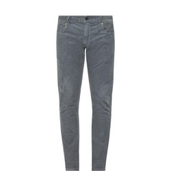 Cord Effect Jeans